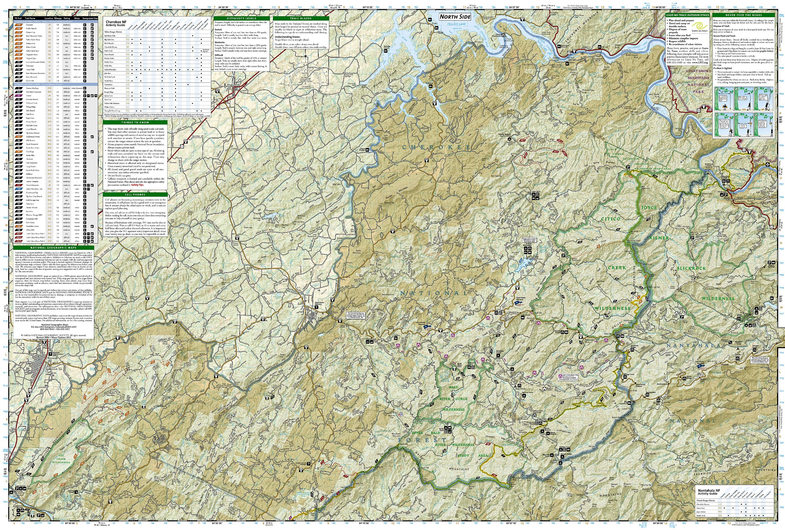 Tellico and Ocoee Rivers [Cherokee National Forest] (National ...