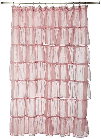 Amazon.com: Lorraine Home Fashions Gypsy Shower Curtain, 70-Inch ...