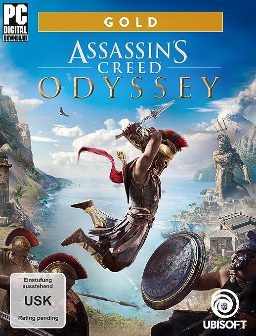 Assassin's Creed Odyssey - Standard Edition - [Xbox One] inkl. Lösungsbuch Adventurespiel Action-Adventure Action-Rollenspiel