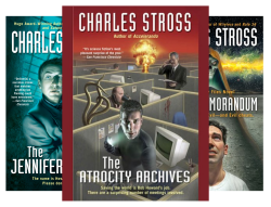Laundry Files (7 Book Series) by  Charles Stross