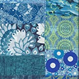 Decopatch Mixed Art Paper Packs Decoupage and other craft projects (Blue)