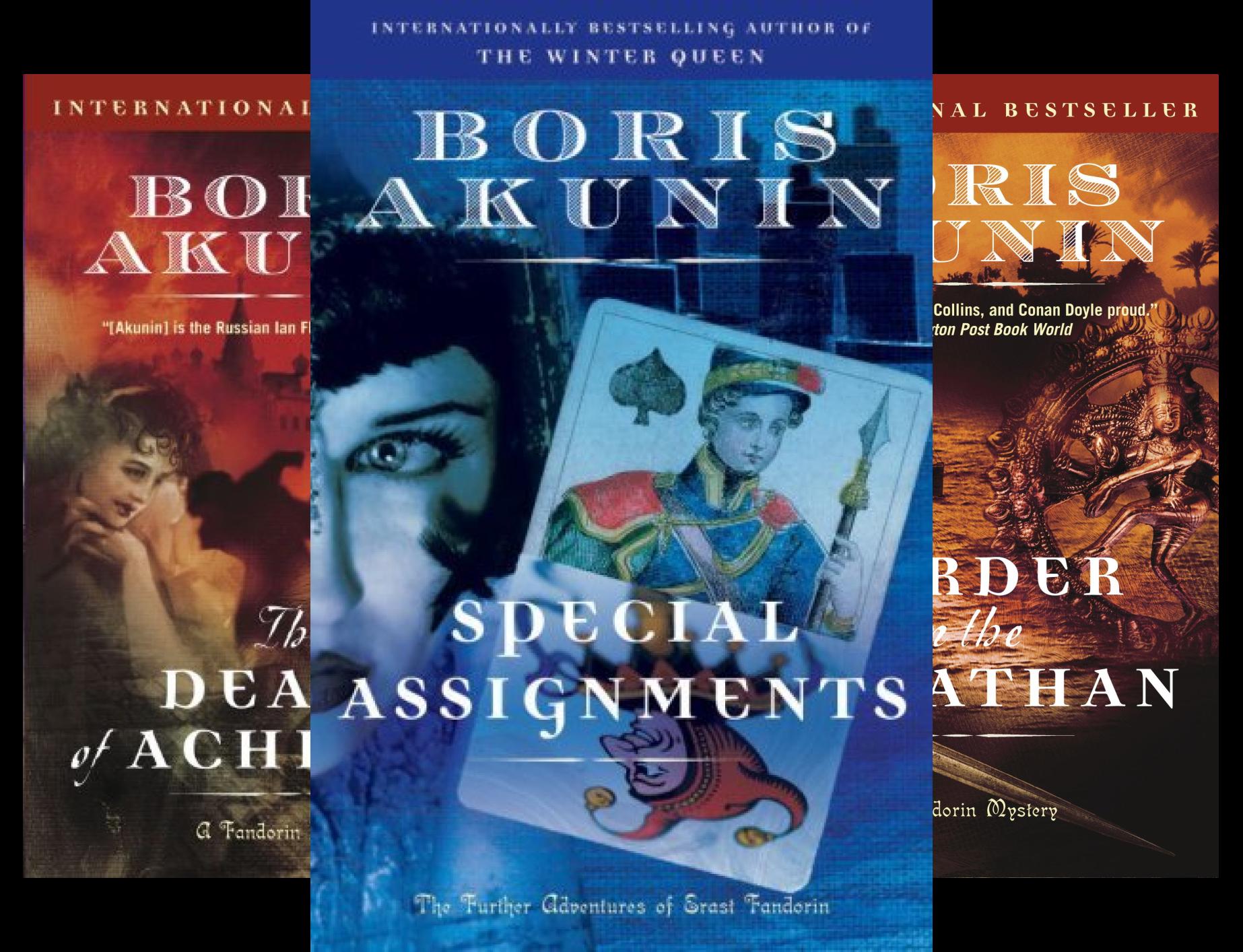 Erast Fandorin (4 Book Series)