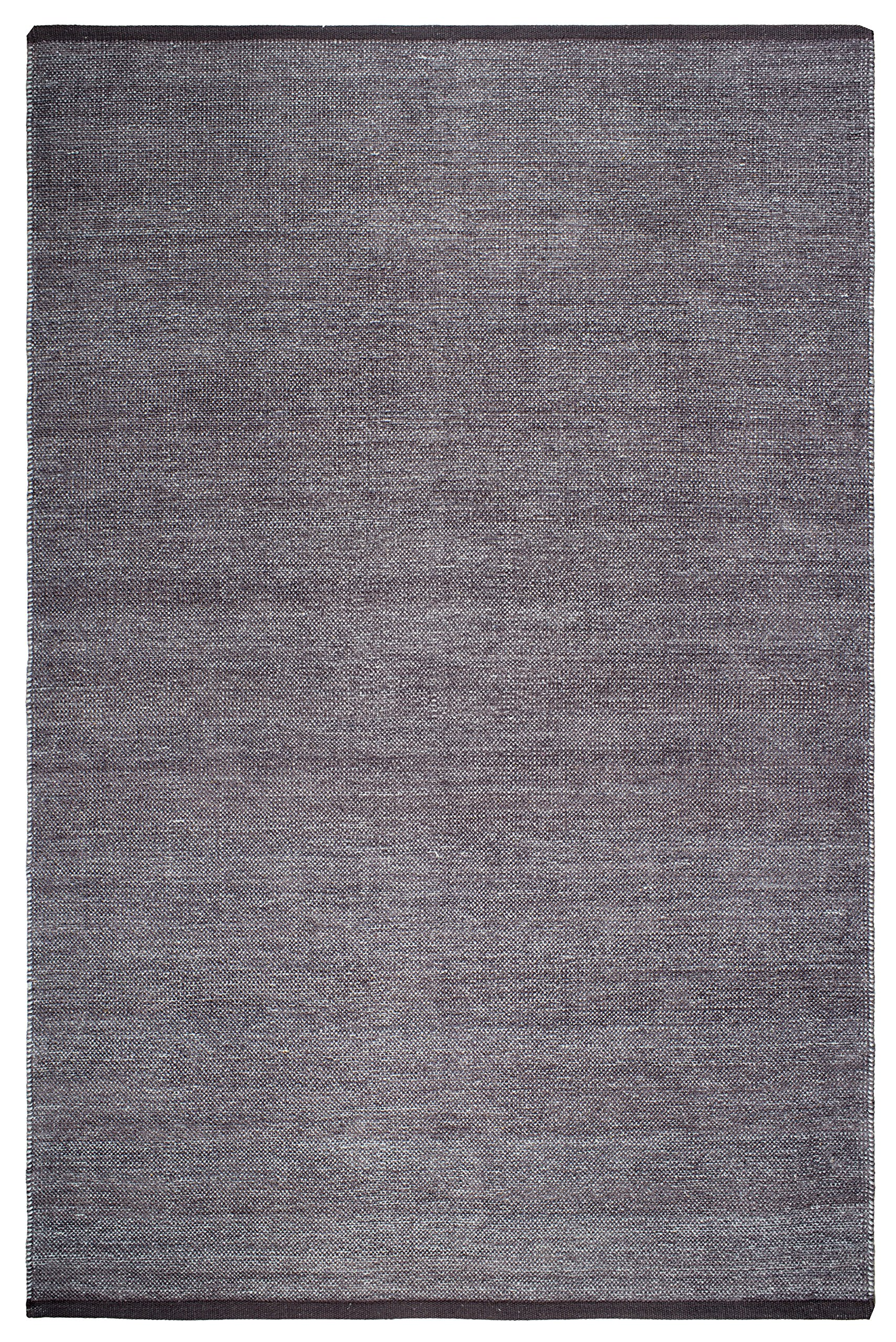 Fab Habitat Reversible Cotton Area Rugs | Rugs for Living Room, Bathroom Rug, Kitchen Rug | Machine Washable | Waterloo -  Gray | 2' x 3'