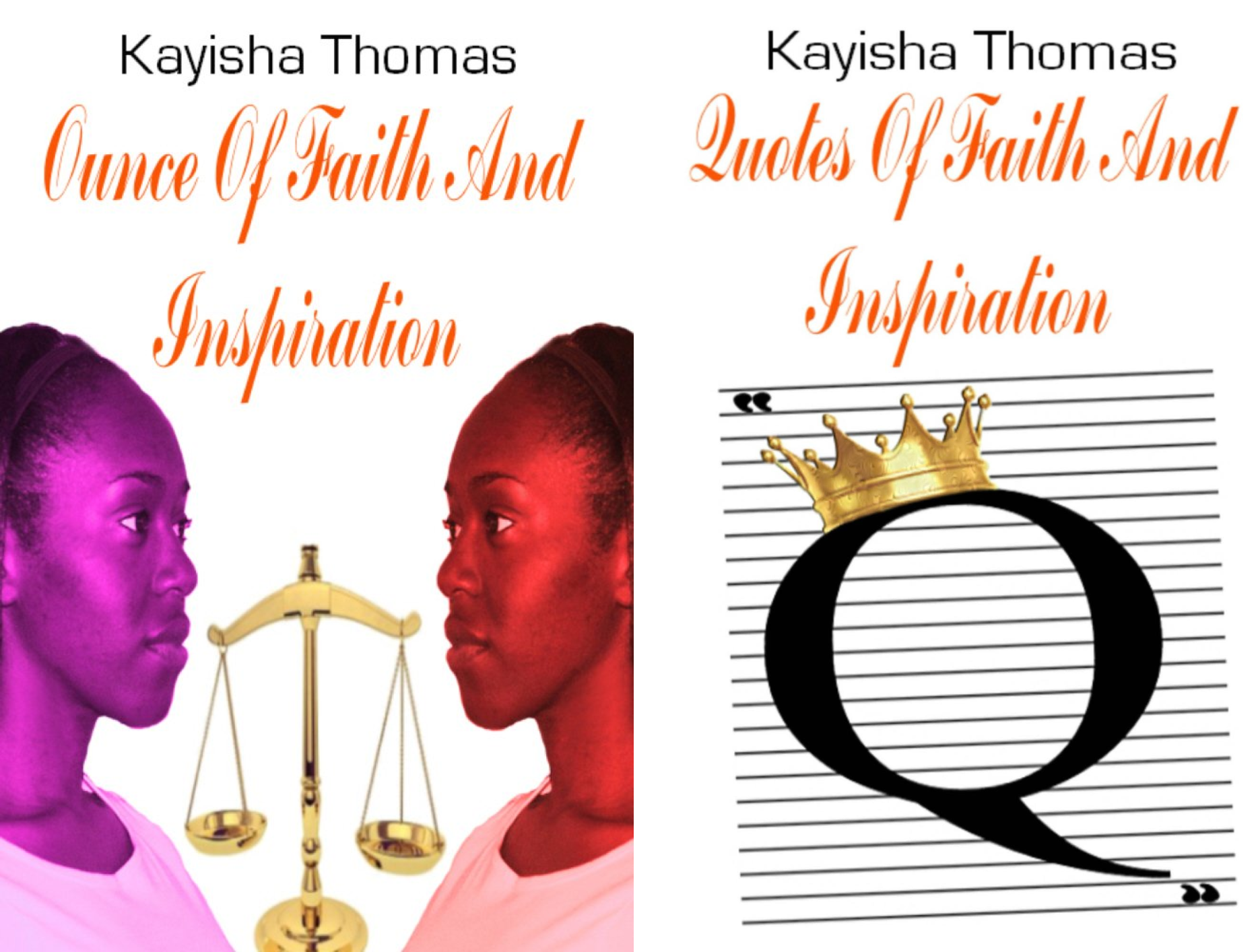 Faith And Inspiration (2 Book Series)