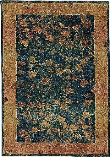 Oriental Weavers Kharma 349B4 Area Rug, 9 9 x 12 2 , Blue