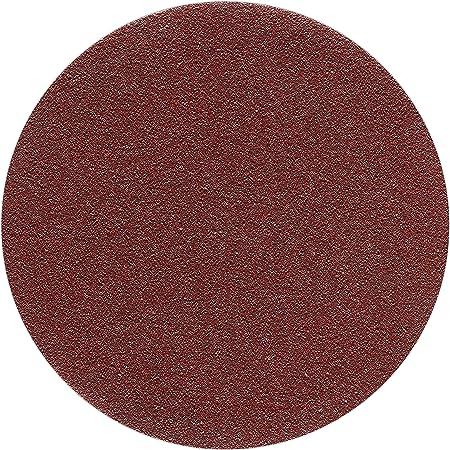 Haft Klett Schleifpapier 5 St/ück 125 mm OHNE LOCH Exzenter Schleifscheiben P150 K/örnung red Film