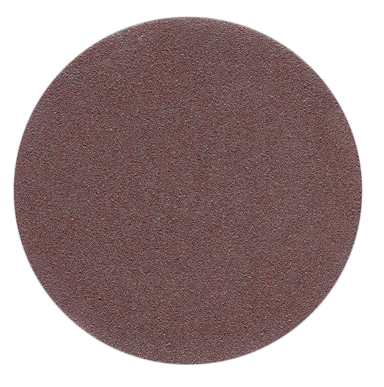 5 St/ück 125 mm OHNE LOCH Exzenter Schleifscheiben P150 K/örnung Haft Klett Schleifpapier red Film