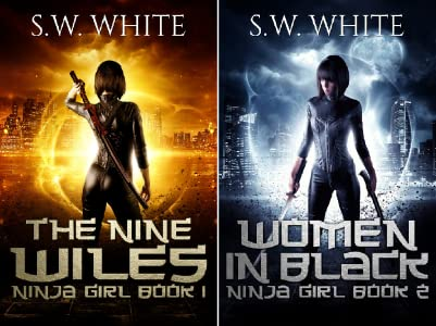 Ninja Girl (2 book series) Kindle Edition