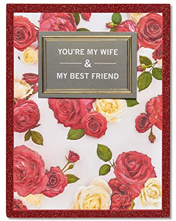 American Greetings Best Friend Valentines Day Card With Glitter 5815834