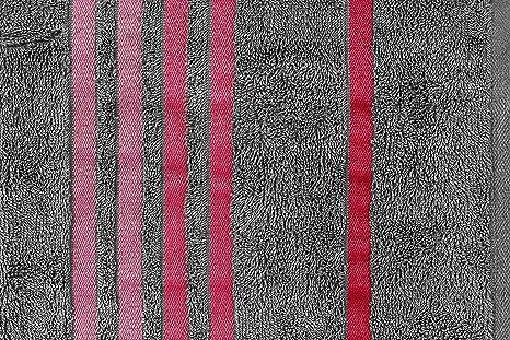Casa Copenhagen ex/ótico algod/ón 475/g//m/² 6/piezas funda juego de toallas de mano /Honey Suckle de ba/ño y manopla de regalo/