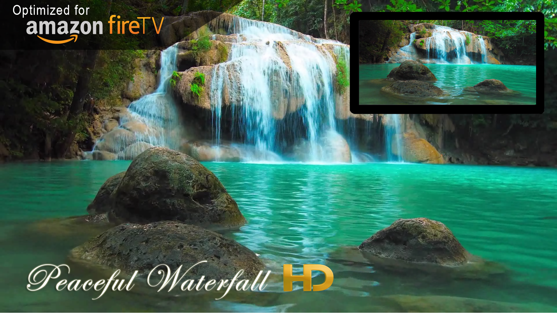 Amazon Com Beach Hd Wallpapers Appstore For Android: Amazon.com: Peaceful Waterfall HD: Appstore For Android