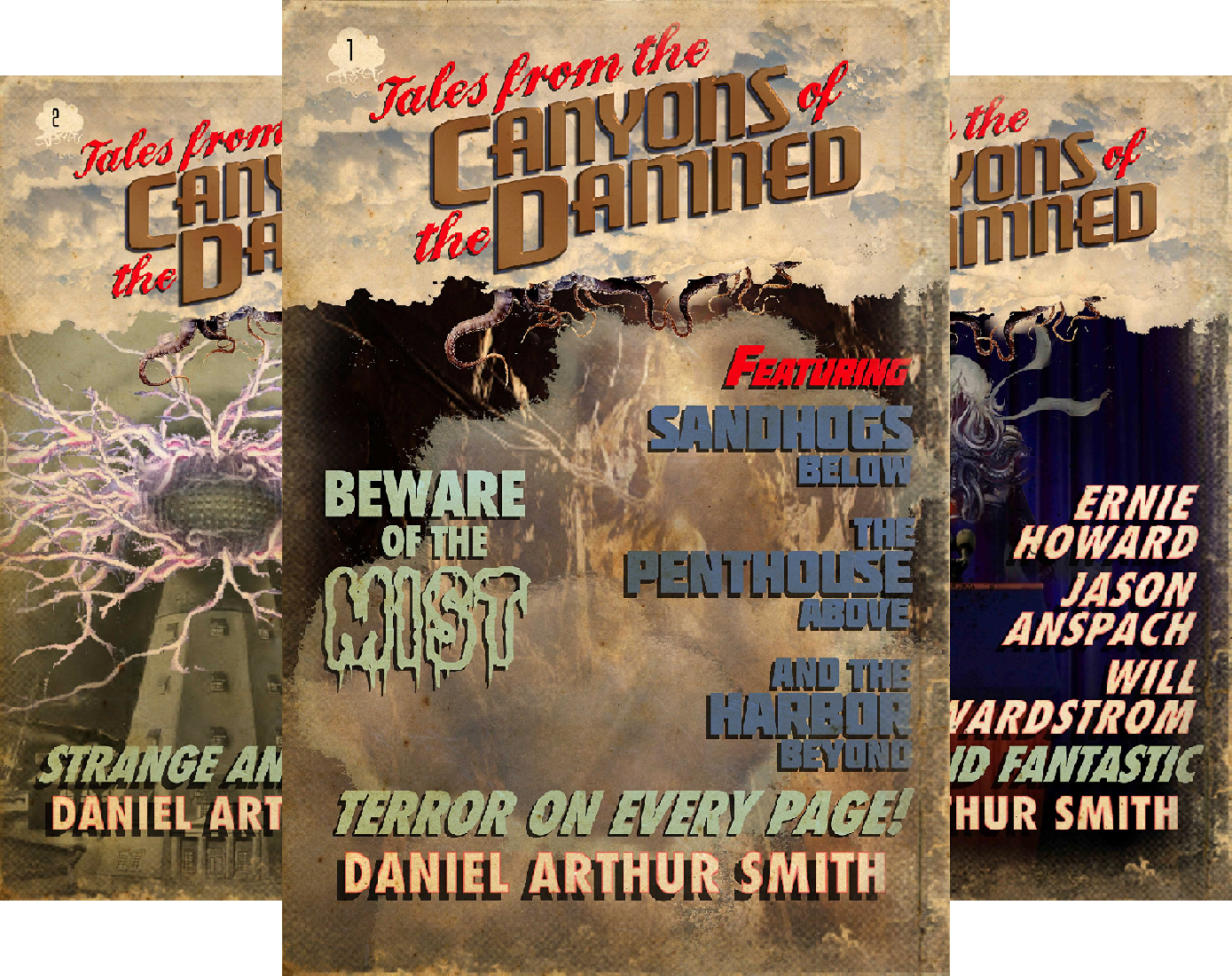 Tales from the Canyons of the Damned (34 Book Series) -