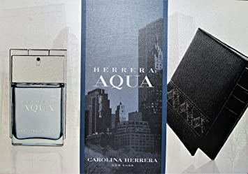Carolina Herrera Aqua 2 Piece Gift Set For Men