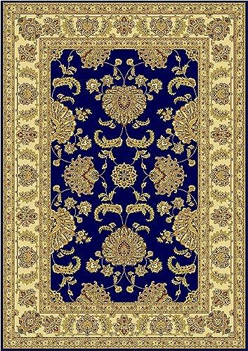 Silk Luxury Navy Rug Silk Persian Rugs Traditional Rug Dark Blue 2×8 Runner Rug Long 2×7 Runners for Hallway 2 x8 Hallway Runner
