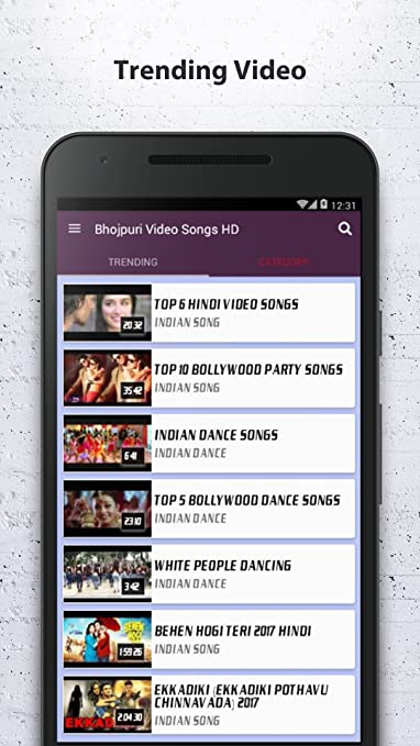 Amazon com: Bhojpuri Video & Song HD: Appstore for Android