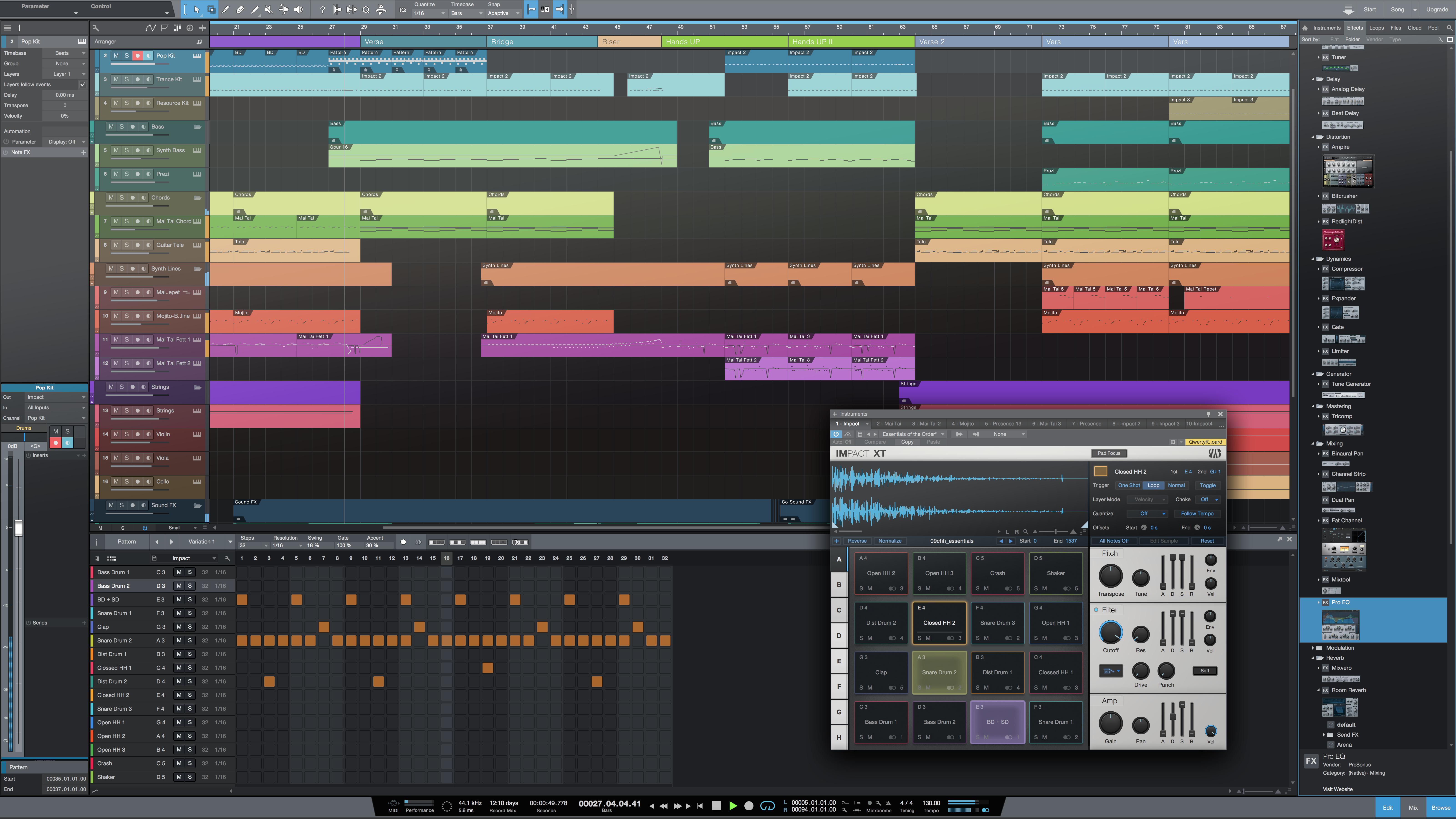 PreSonus Studio One 4 Artist Recording Software