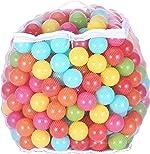 BalanceFrom 2.3-Inch Phthalate Free BPA Free Non-Toxic Crush Proof Play Balls