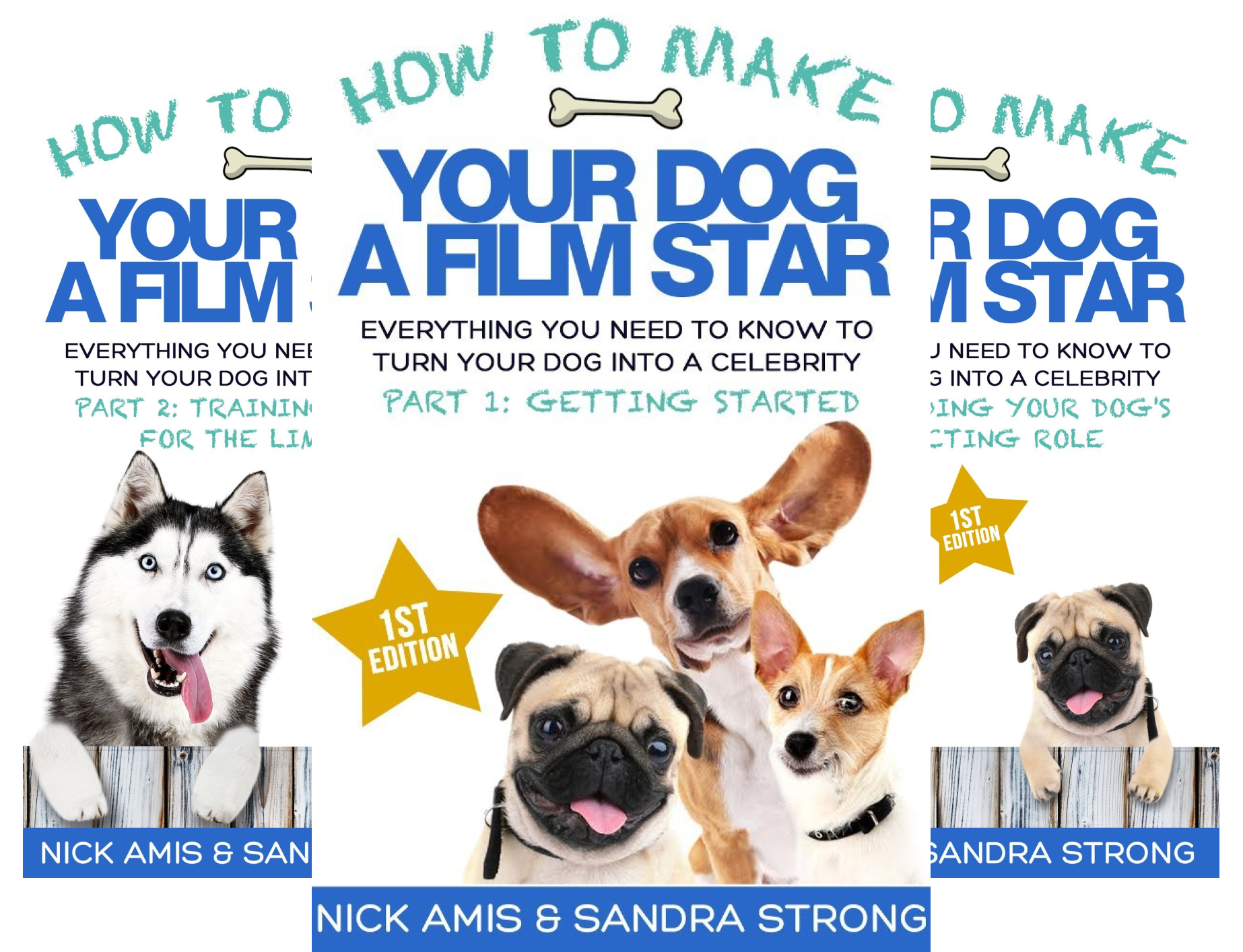 How to Make Your Dog a Film Star (4 Book Series)