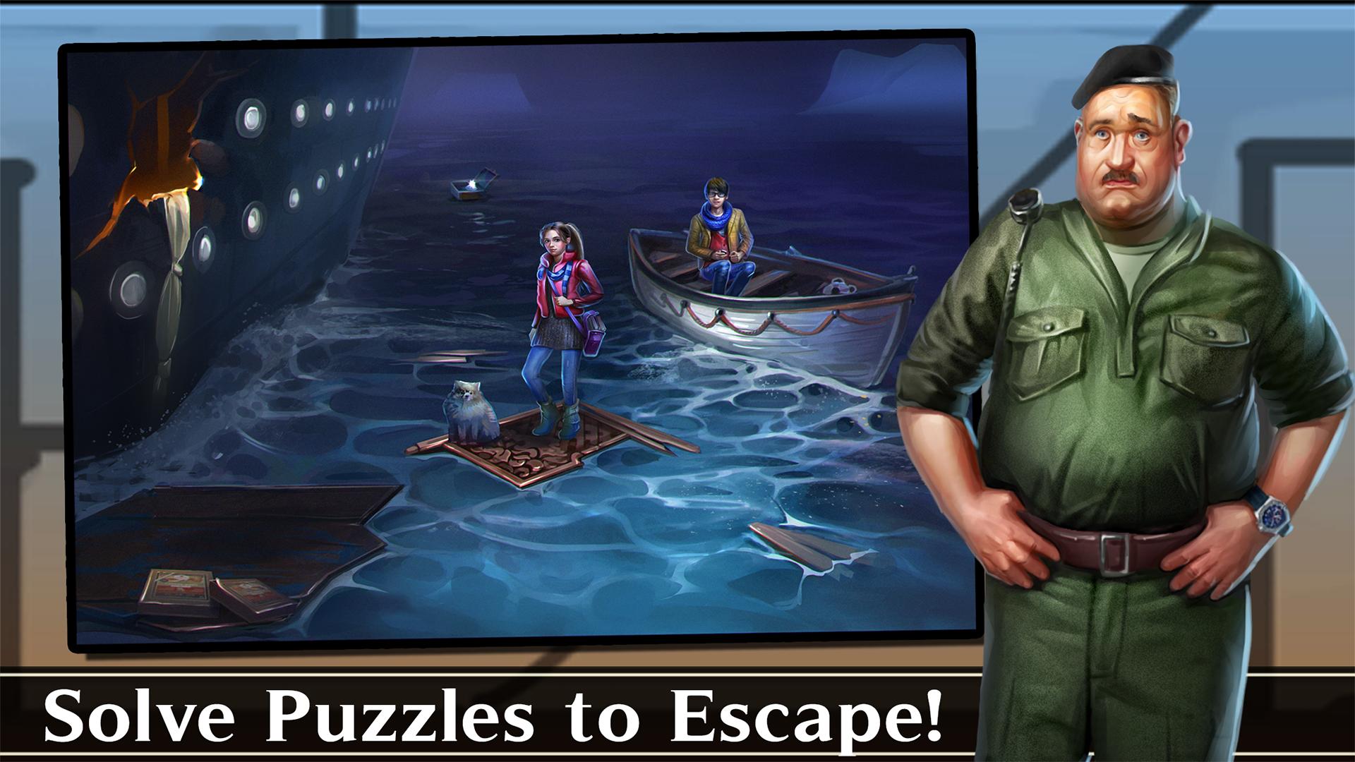 Escape de Aventura: Biblioteca del Tiempo, (Cuarto del