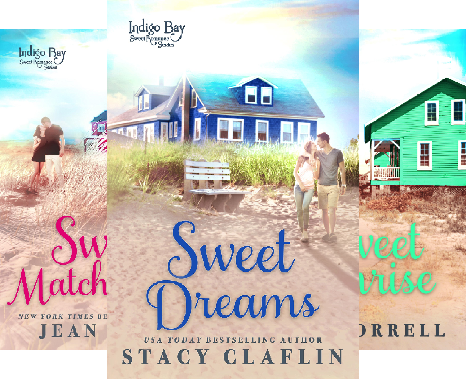 Books : Indigo Bay Sweet Romance Series (12 Book Series)