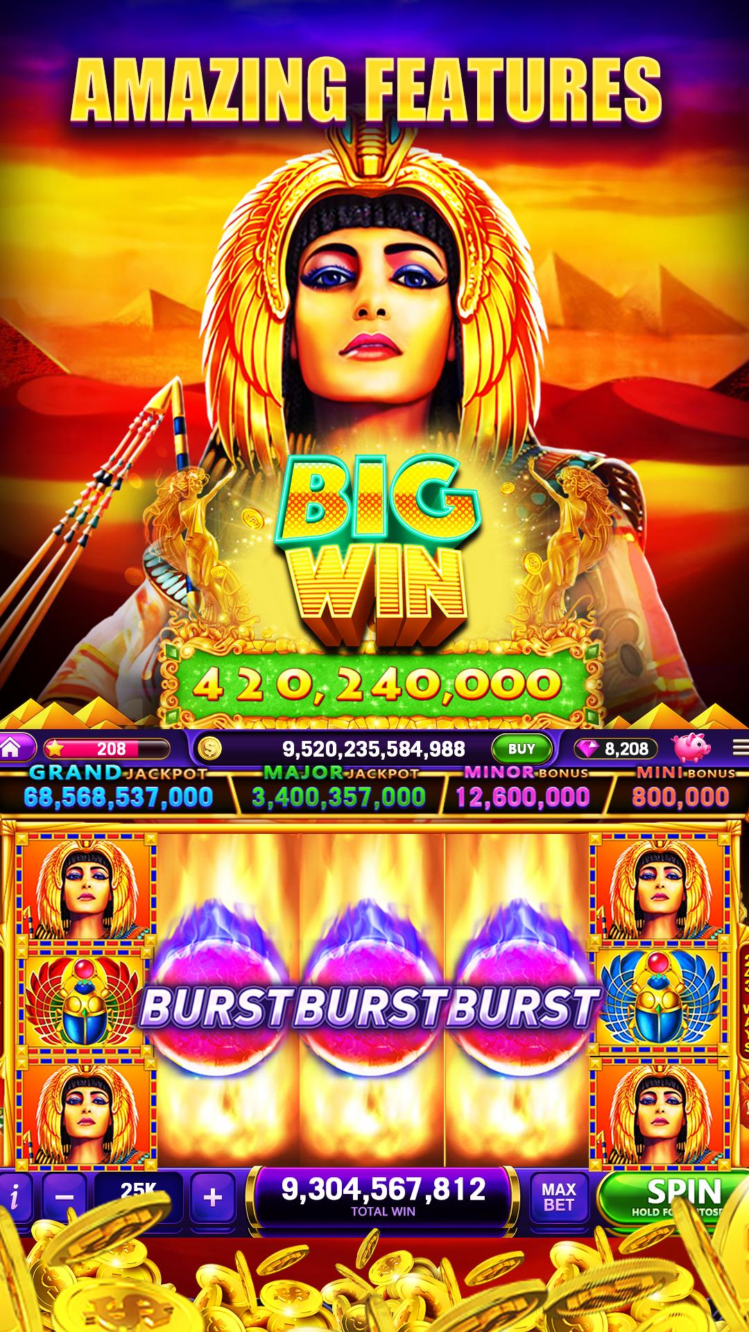 slots machine in casino