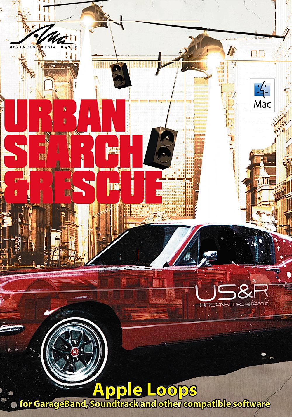 Urban Search & Rescue - Lukecage - Hip Hop Apple Loops for Apple GarageBand & Logic [Download]