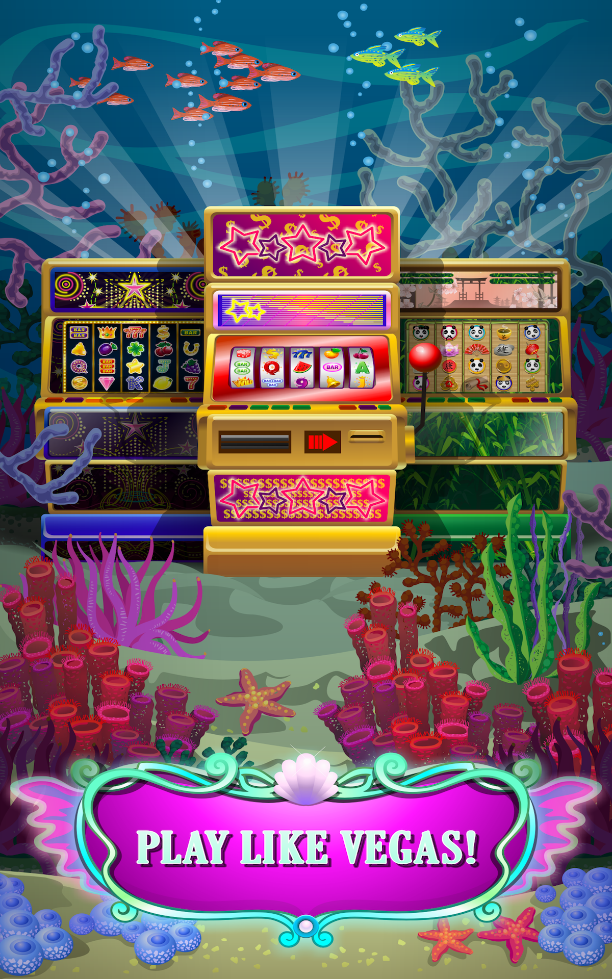 Enchanted magic big sea mermaid slots pro for Gold fish casino promo codes