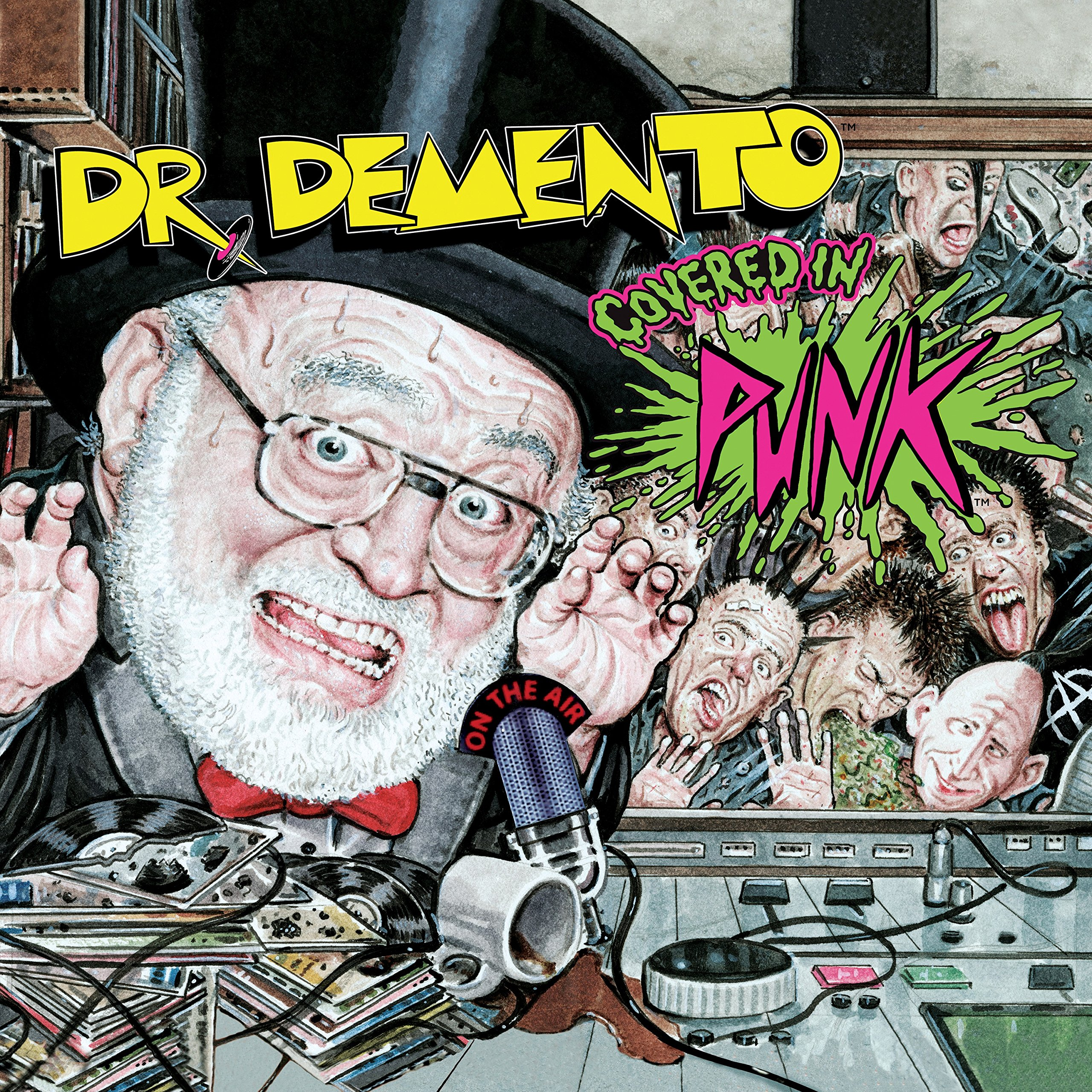 Book Cover: Dr. Demento Covered in Punk