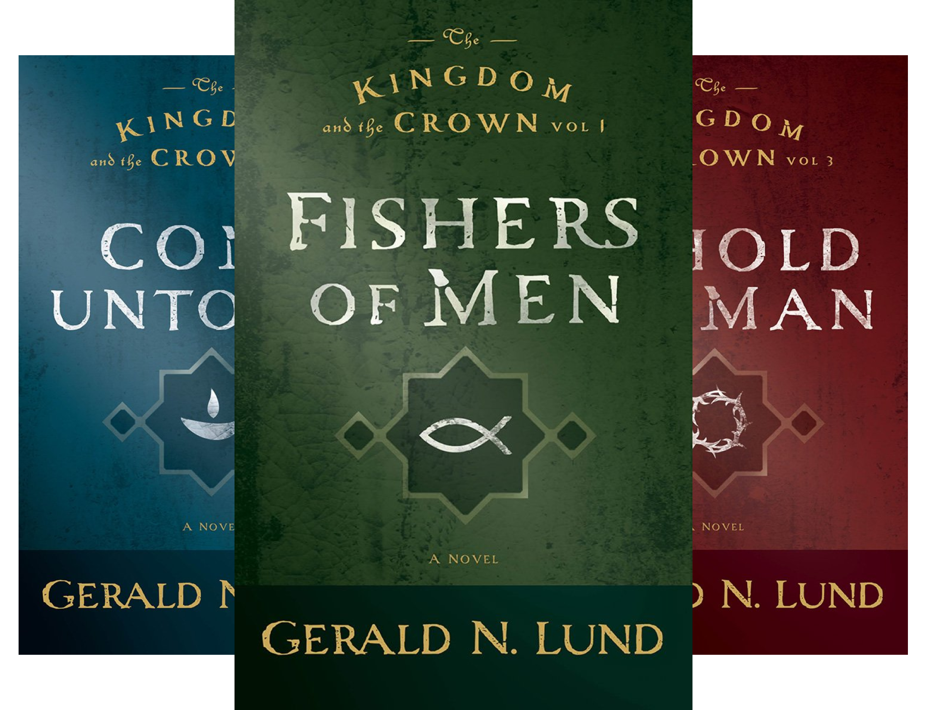 The Kingdom And the Crown (3 Book Series)