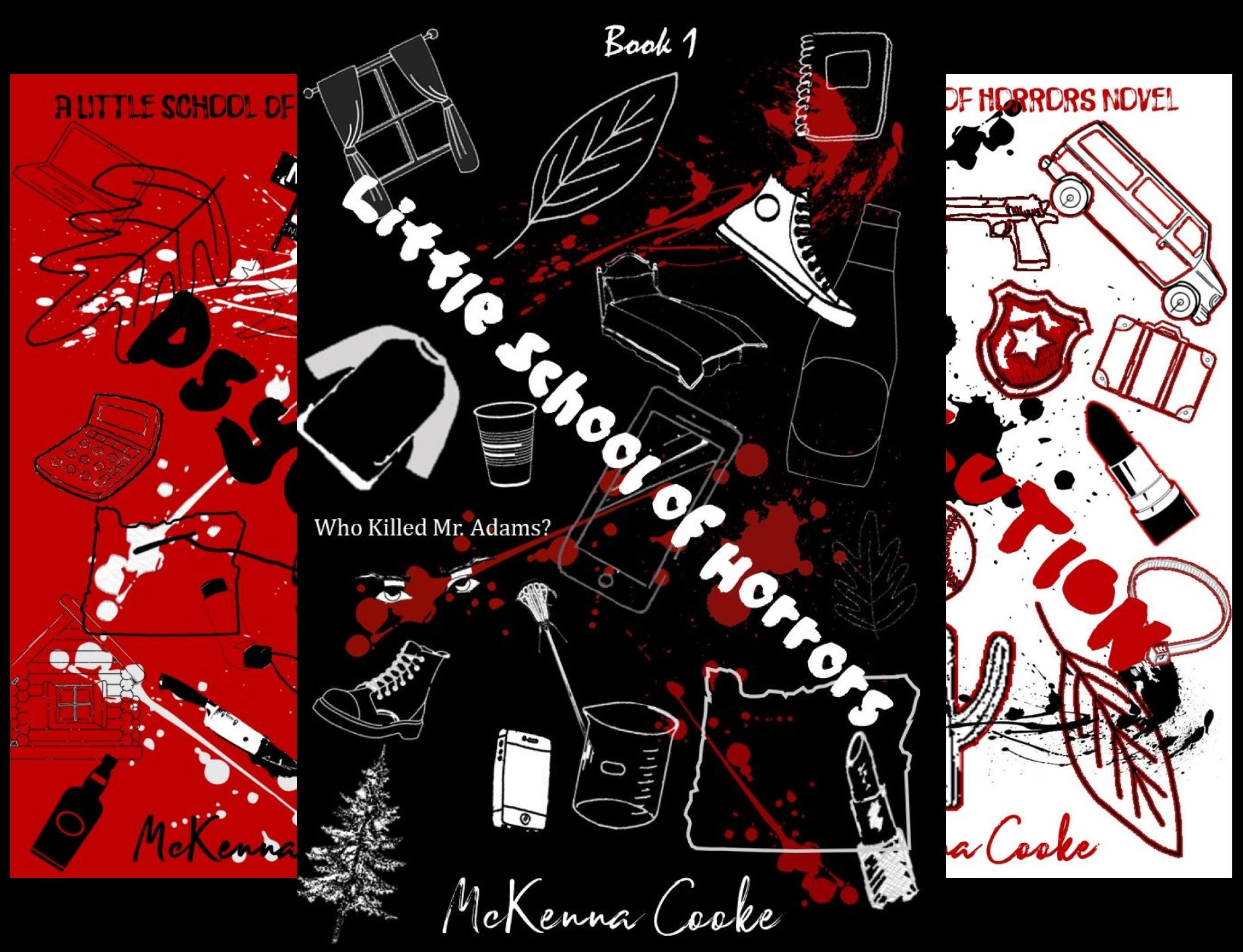 Little School of Horrors (3 Book Series)