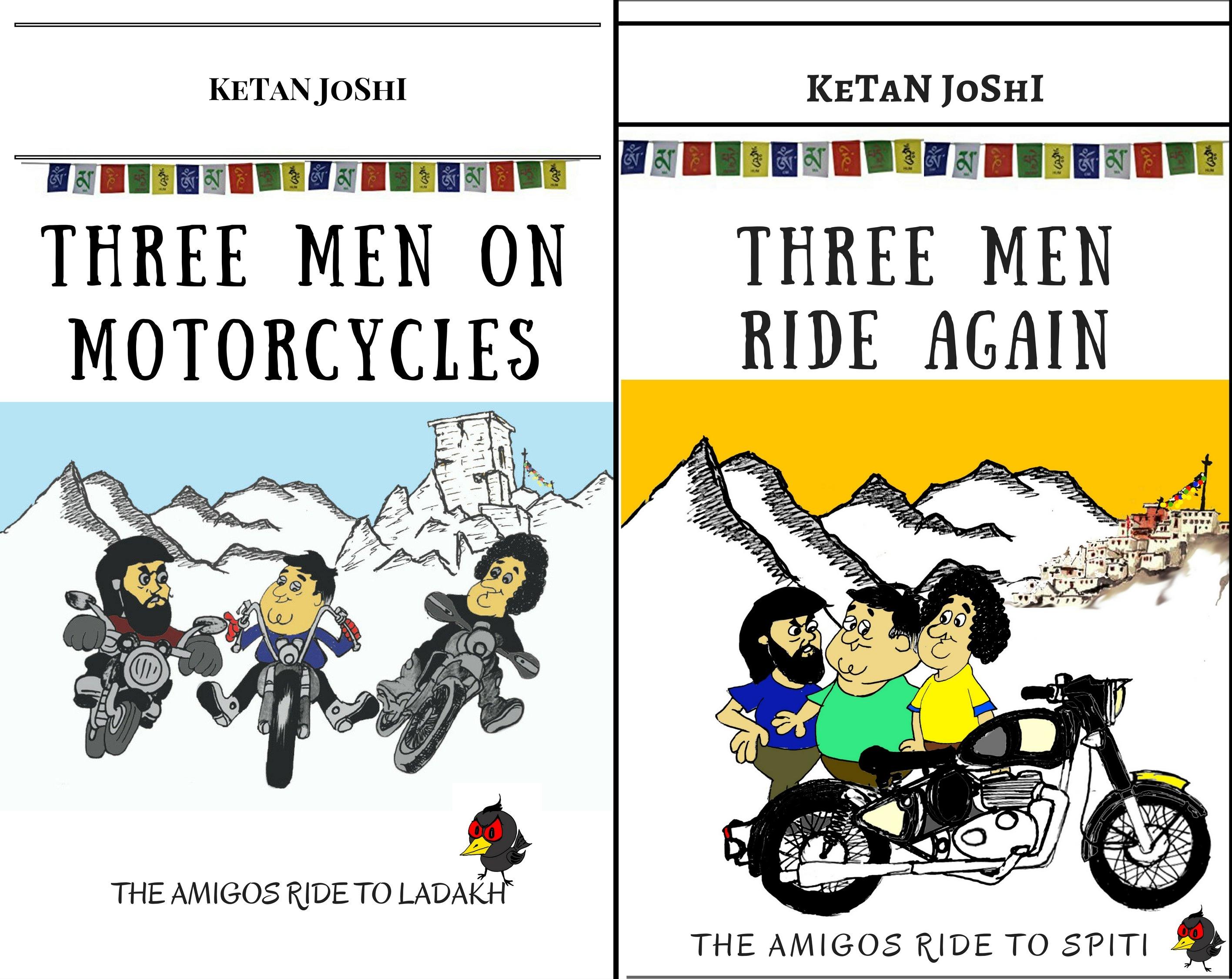Three Men on Motorcycles (2 Book Series)