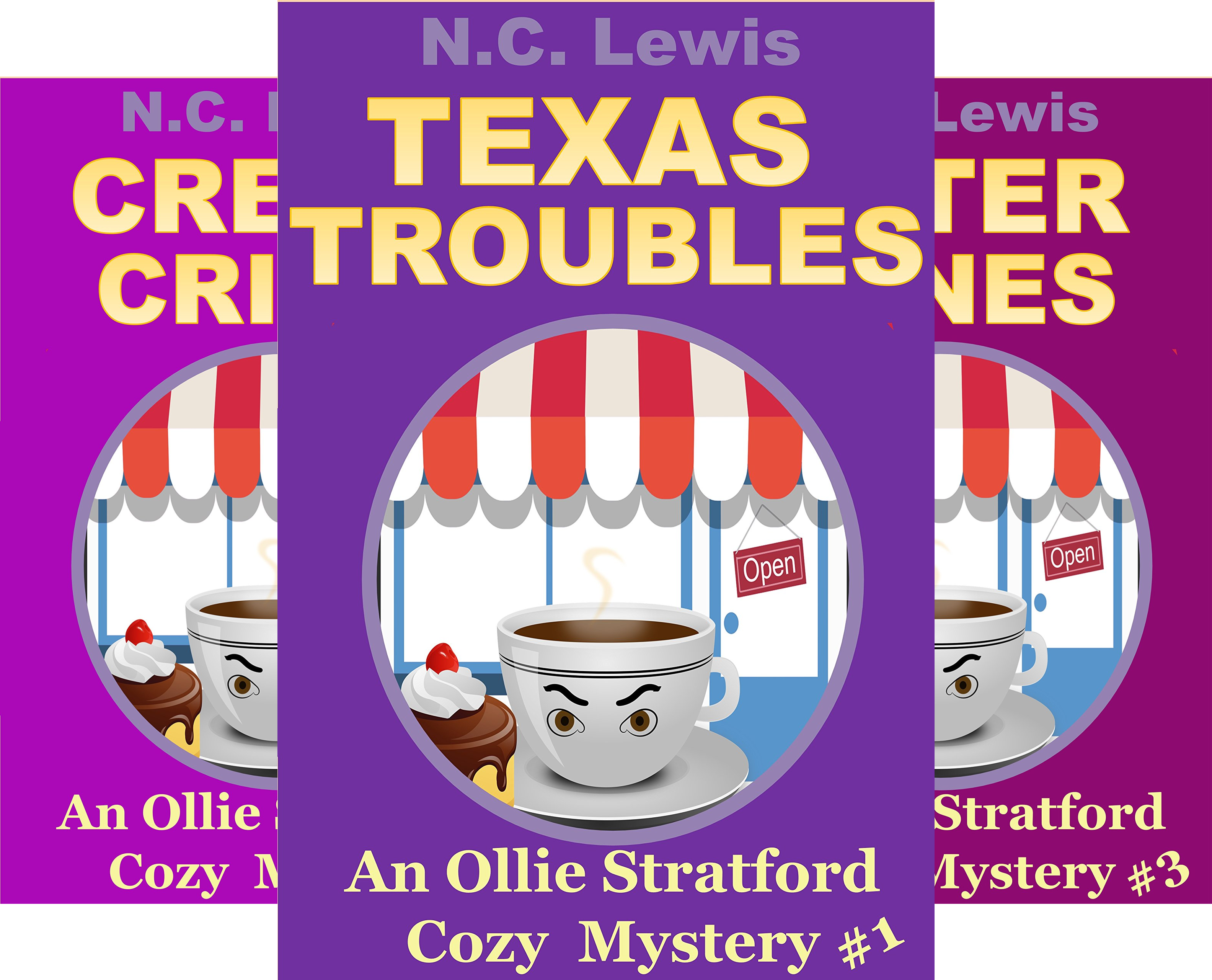 An Ollie Stratford Mystery (7 Book Series)