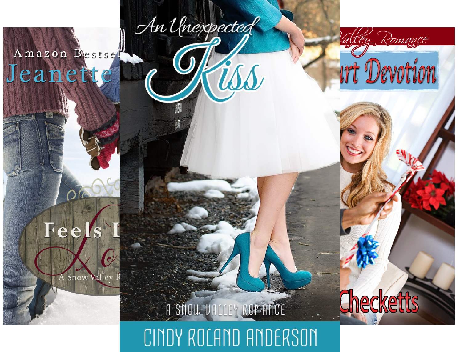 Books : Christmas in Snow Valley series (5 Book Series)