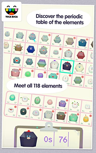 amazoncom toca lab elements appstore for android