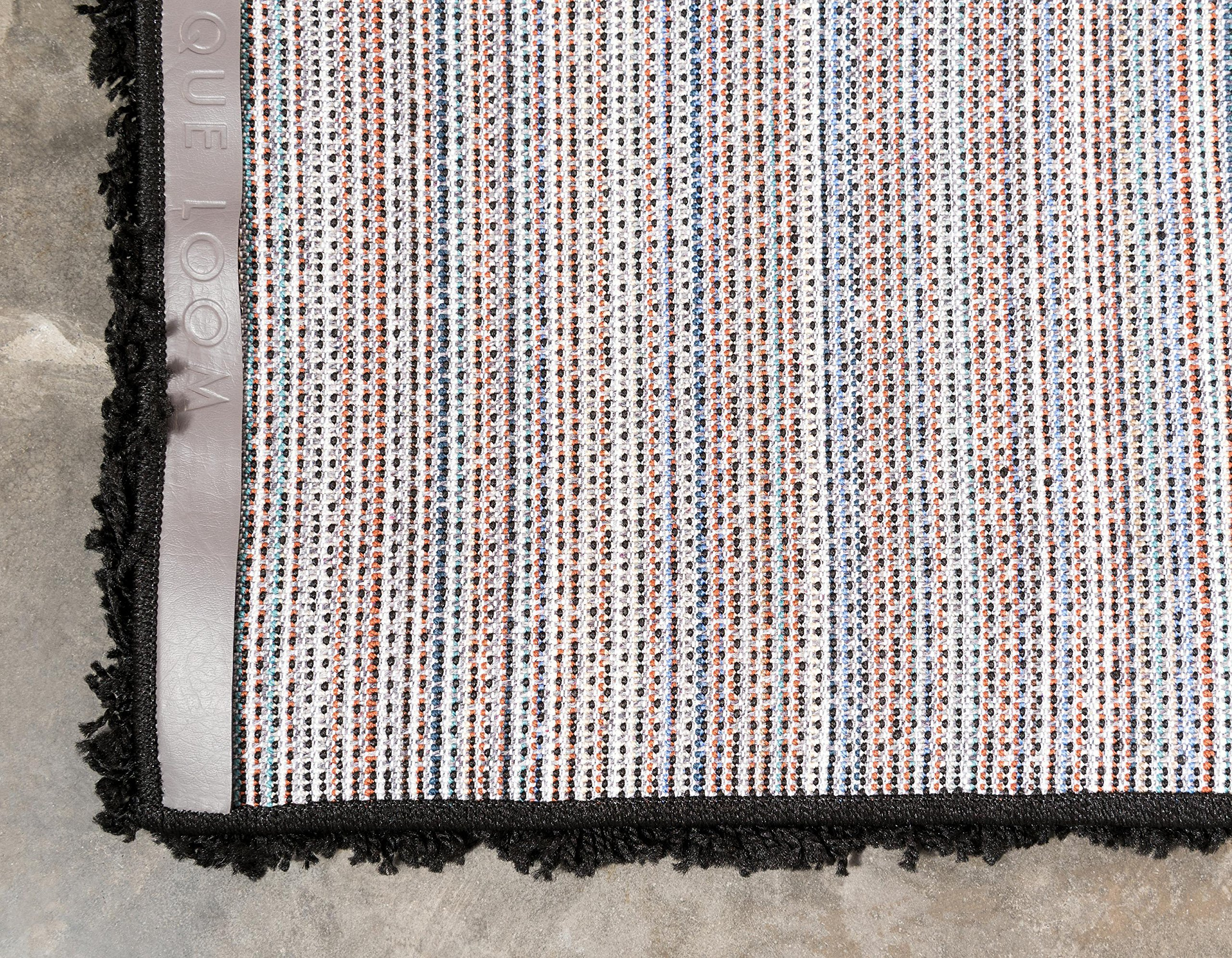 Unique Loom Solo Solid Shag Collection Modern Plush Jet Black Rectangle (5' x 8') by Unique Loom (Image #10)