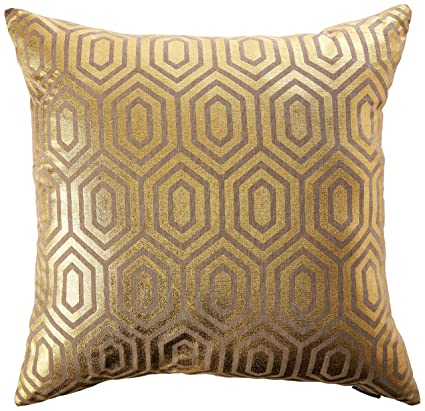 Incroyable Safavieh Pillow Collection 22 Inch, Harper Gold Throw Pillows (Set Of 2)