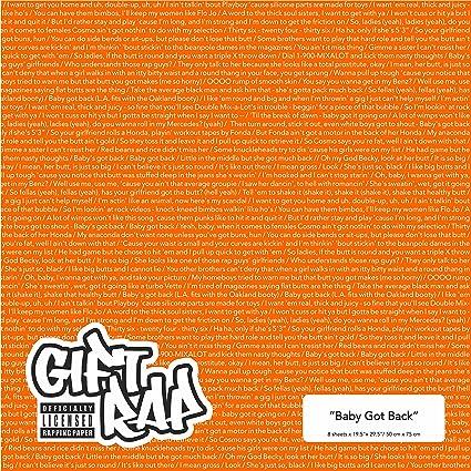 orups födelsedag Amazon.com: Gift Rap: