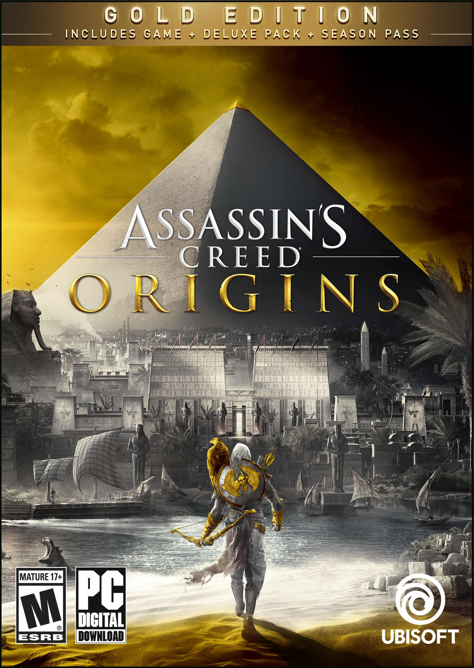 Assassin's Creed Origins – Gold Edition [Online Game Code]