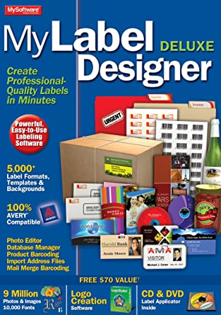 Amazon Com Mylabel Designer Deluxe 9 Download Software