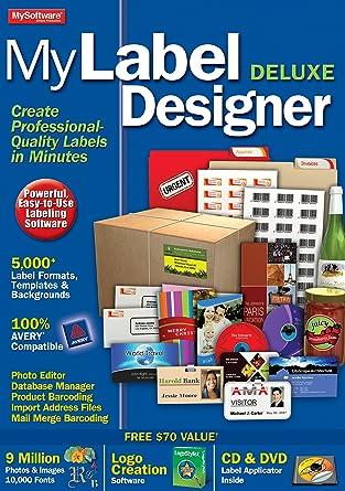 Amazon Com Mylabel Designer Deluxe 9 Download Software