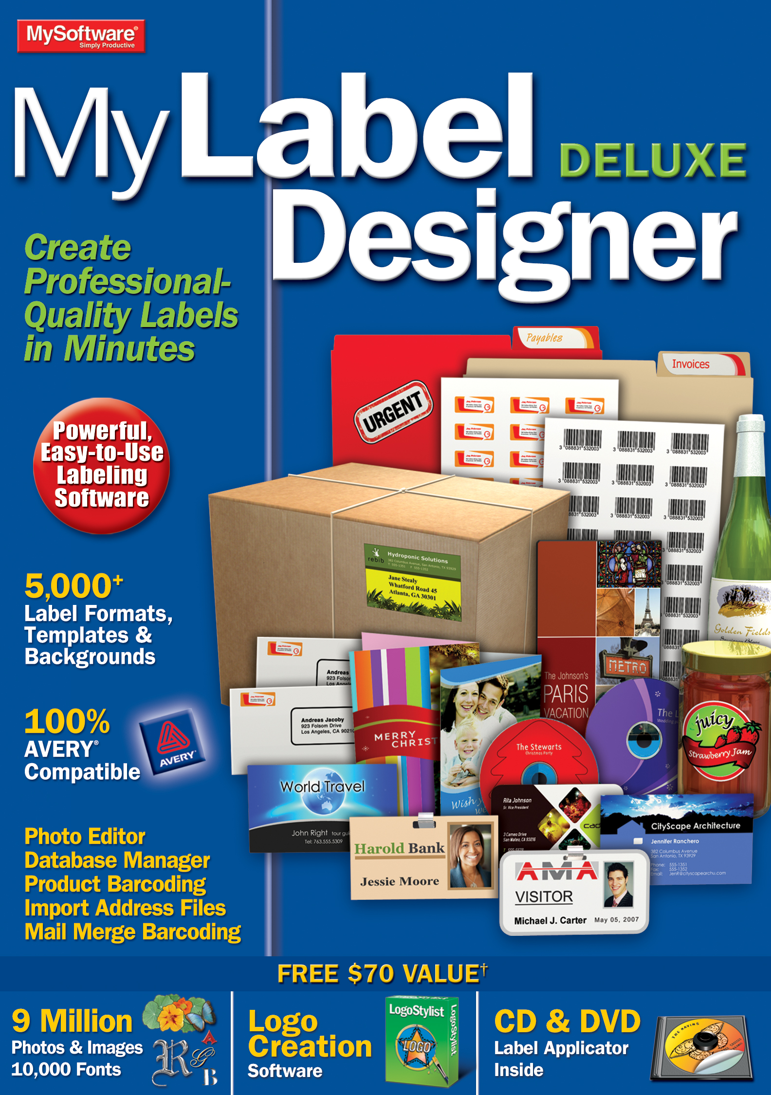 Barcode Design Software (MyLabel Designer Deluxe 9 [Download])