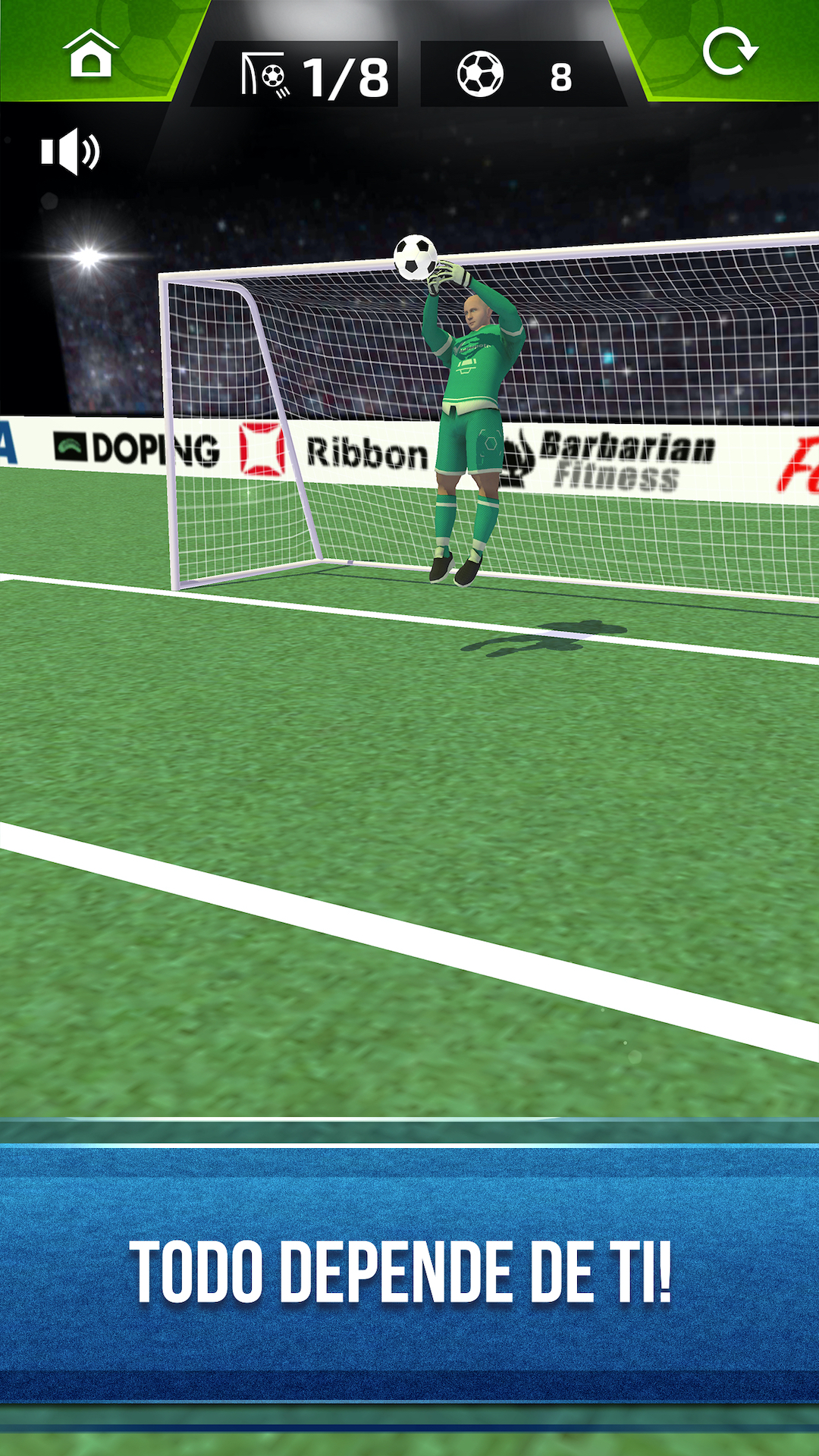 Soccer Penalty Series 3D - Football Playing Heroes
