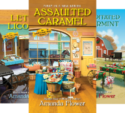An Amish Candy Shop Mystery (4 Book Series) by  Amanda Flower