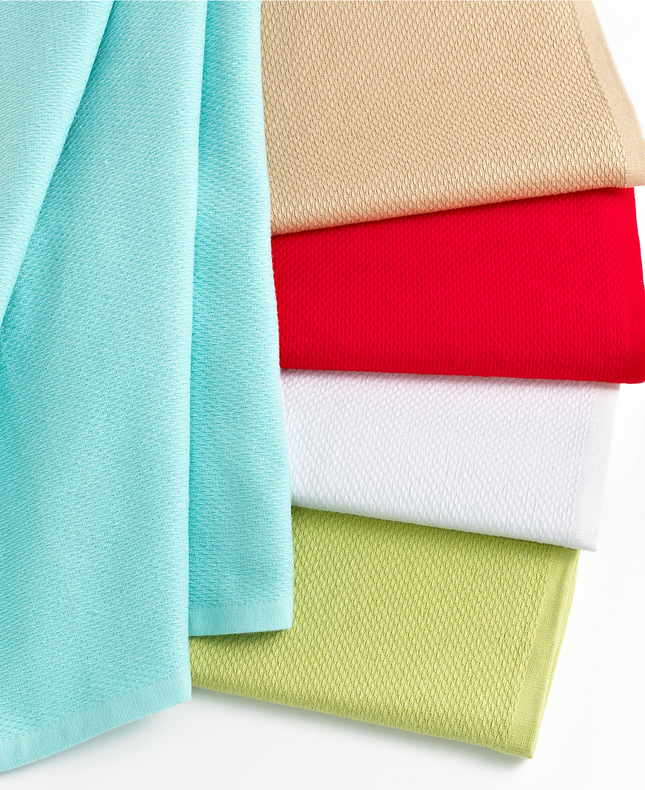 Martha Stewart Collection Piqué Kitchen Towels - Kitchen Gadgets - Kitchen - Macy's