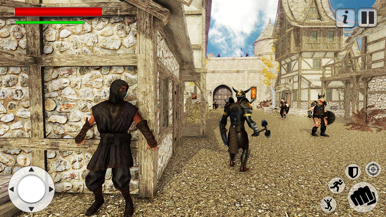Kung-fu Ninja Battle 3d: juegos gratis correr arashi arena ...
