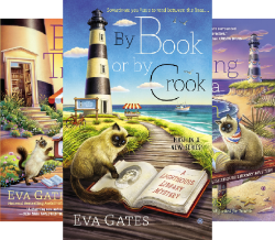 A Lighthouse Library Mystery (3 Book Series) by  Eva Gates