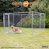Cozy Pet Dog Run Puppy Enclosure Chicken Runs Whelping Pen 10ft x 10ft. Model DR03 (We do not ship to Northern Ireland, Scottish Highlands & Islands, Channel Islands, IOM or IOW.)