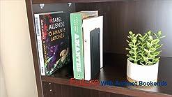 soporte para libros de escritorio escuela 2 sujetalibros de acr/ílico transparente en forma de L organizador de escritorio accesorios de oficina papeler/ía