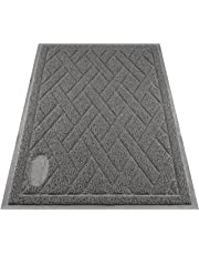 Pawkin Phthalate Free Cat Litter Mat, Patented Design with Litter Lock Mesh, Extra Large, Gray