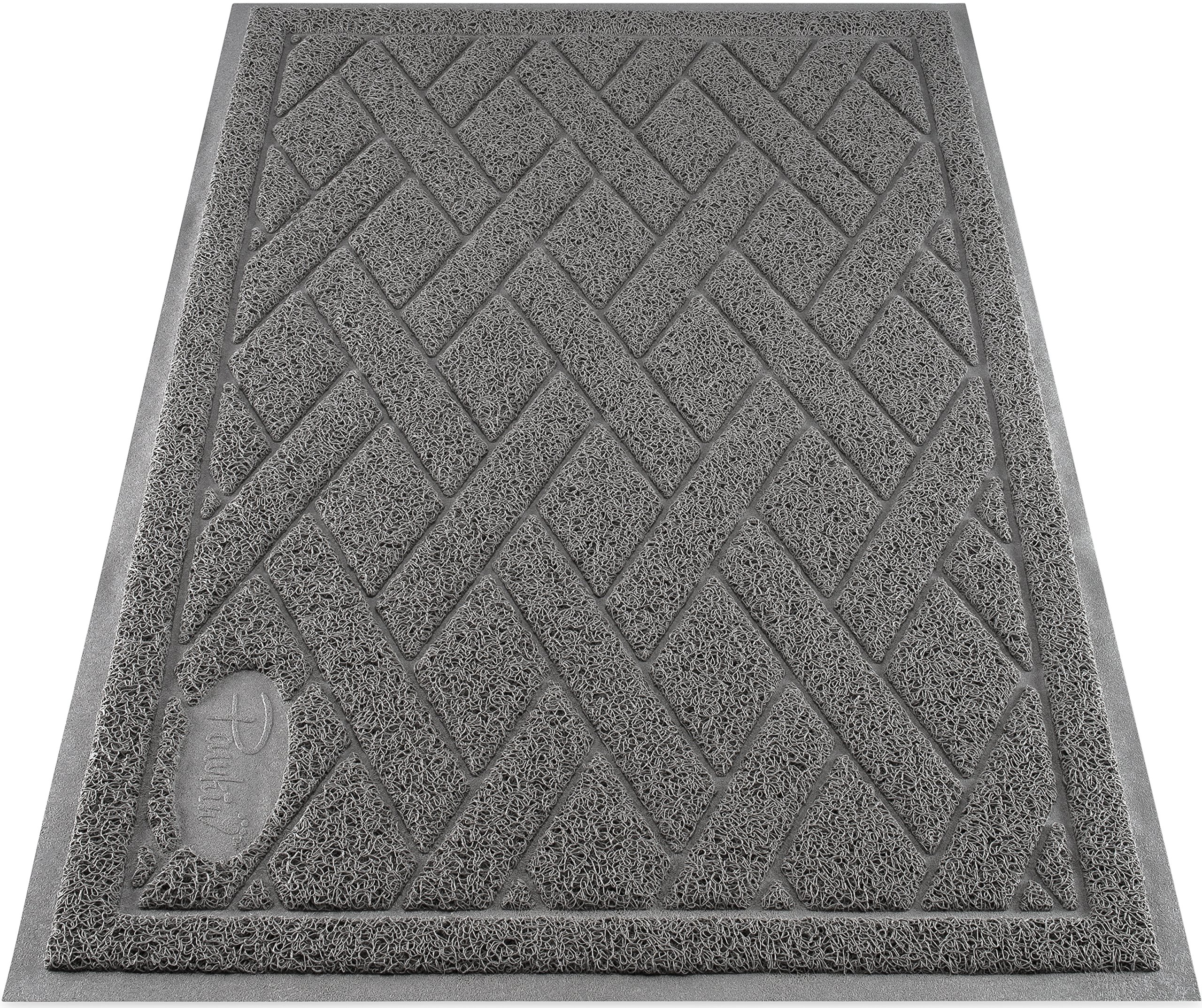 Vinyl Floor Mat Durable Soft And Easy To Clean Ideal: Best Rated In Cat Litter Mats & Helpful Customer Reviews